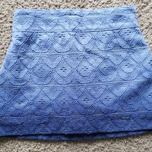 NWT Hollister ombre skirt lace blue XS